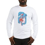 Anatomy Shirt - 'Gastrointest Long Sleeve T-Shirt