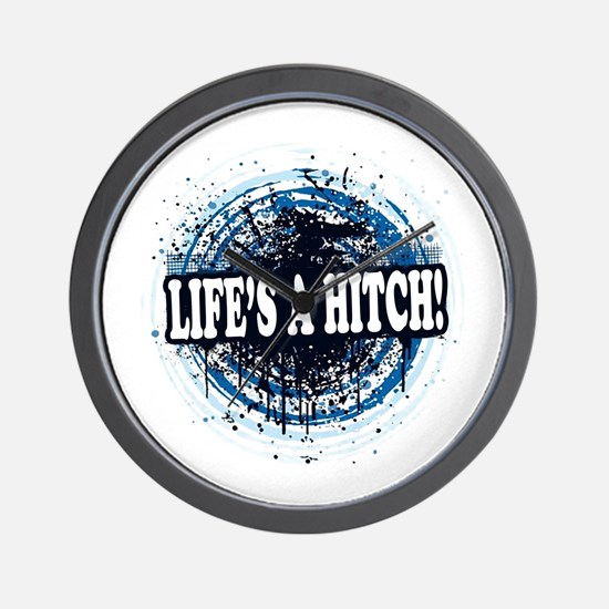 Life's a hitch! Wall Clock