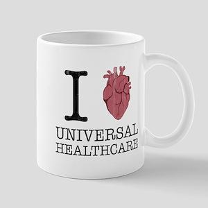 I Heart Universal Healthcare Mugs