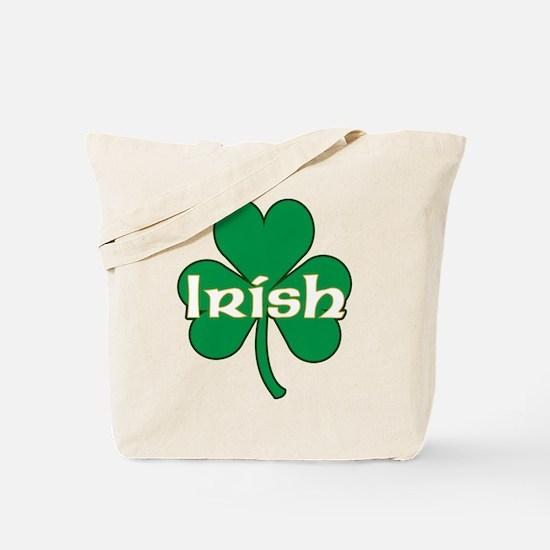 Irish Shamrock Tote Bag