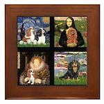 Cavalier Famous Art Comp1 Framed Tile
