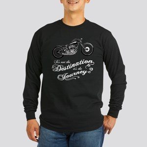 It's the Journey Long Sleeve Dark T-Shirt