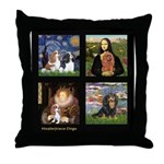 Cavalier Famous Art Comp1 Throw Pillow