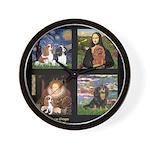Cavalier Famous Art Comp1 Wall Clock