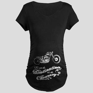 It's the Journey Maternity Dark T-Shirt