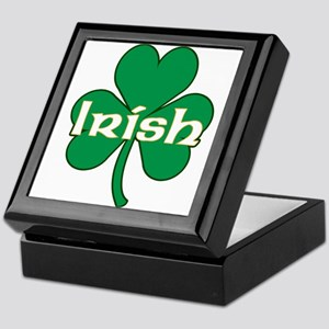 Irish Shamrock Keepsake Box