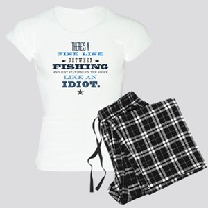 Fishing Idiot Women's Light Pajamas