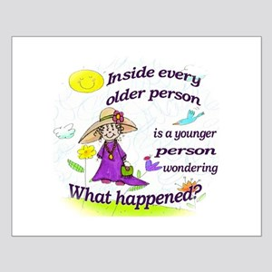 Inside Older Person Small Poster