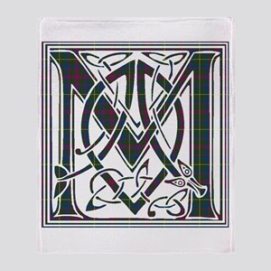 Monogram-MacKintosh hunting Throw Blanket
