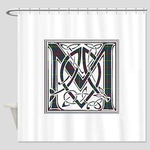 Monogram-MacKintosh hunting Shower Curtain