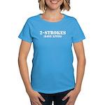 2-Strokes (Save Lives) - Women's Dark T-Shirt
