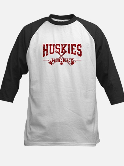 Huskies Hockey Kids Baseball Jersey