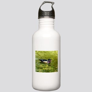 Wood Duck Drake Stainless Water Bottle 1.0L
