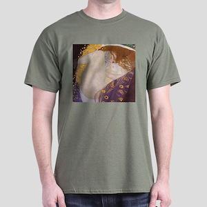 Gustav Klimt Danae Dark T-Shirt