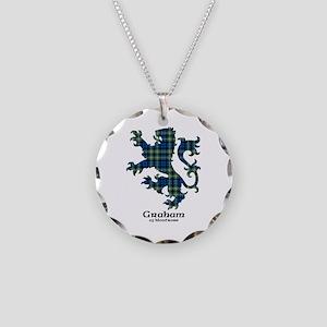 Lion - Graham of Montrose Necklace Circle Charm