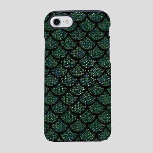 sequin mermaid scales iPhone 7 Tough Case
