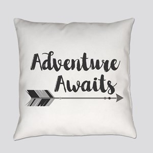 Adventure Awaits Everyday Pillow