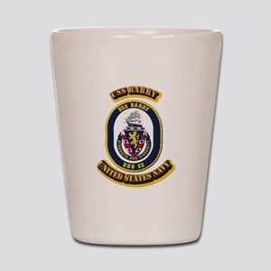 US - NAVY - USS Barry (DDG 52) Shot Glass