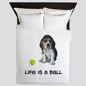 Beagle Life Queen Duvet