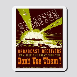 Broadcast Receivers WPA Poster Mousepad
