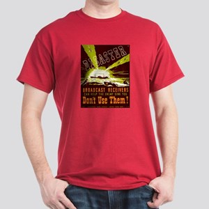 Broadcast Receivers WPA Poster Dark T-Shirt