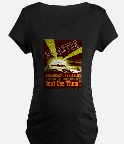 Broadcast Receivers WPA Poster T-Shirt