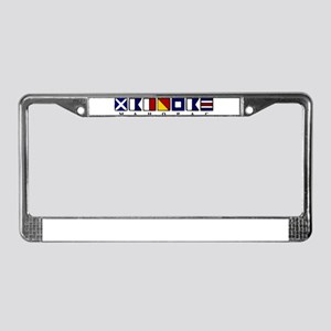 Mahopac License Plate Frame