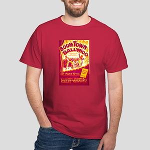 Boomtown Ballyhoo WPA Poster Dark T-Shirt