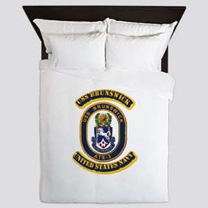US - NAVY - USS Brunswick (ATS-3) Queen Duvet