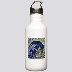 Hokusai Feminine Wave Stainless Water Bottle 1.0L