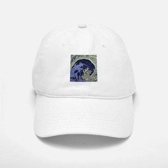 Hokusai Feminine Wave Baseball Baseball Cap
