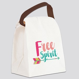 Free Spirit Canvas Lunch Bag