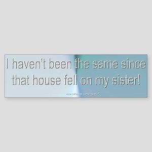 """My Sister"" Bumper Sticker"