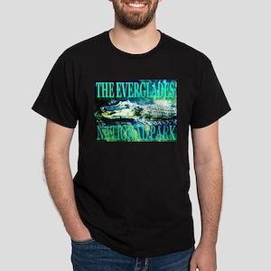The Everglades National Park Black T-Shirt