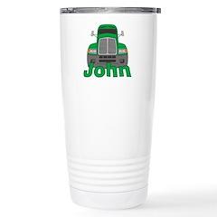 Trucker John Stainless Steel Travel Mug