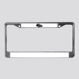 1937 Plymouth P3 Business Cou License Plate Frame