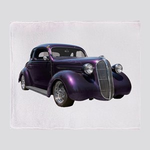 1937 Plymouth P3 Business Cou Throw Blanket