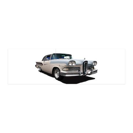 1958 Ford Edsel 21x7 Wall Peel