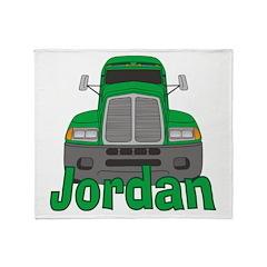 Trucker Jordan Throw Blanket