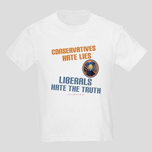Conservative vs Liberal Kids T-Shirt