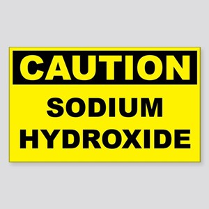 Caution Sodium Hydroxide