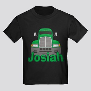 Trucker Josiah Kids Dark T-Shirt