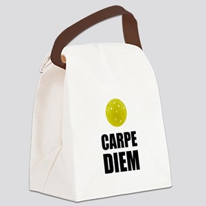 Carpe Diem Pickleball Canvas Lunch Bag