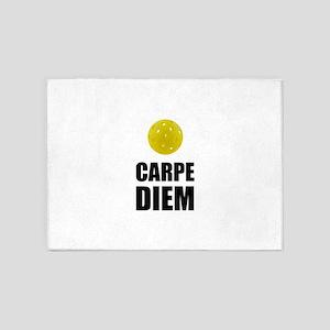 Carpe Diem Pickleball 5'x7'Area Rug
