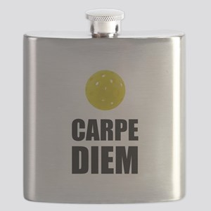 Carpe Diem Pickleball Flask