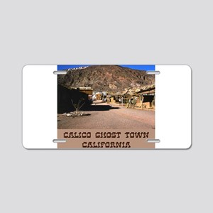 Calico Ghost Town Aluminum License Plate