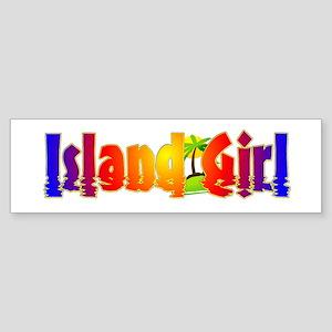 Island Girl Sticker (Bumper)