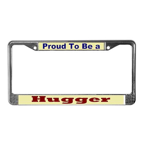 Hug a Hugger License Plate Frame
