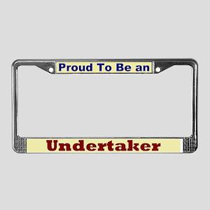 Hug an Undertaker License Plate Frame