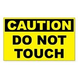 No touch Stickers